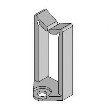 Saddle Clip - Top Entry - Special