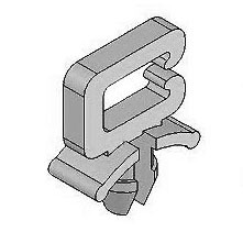 Saddle Clip - Side Entry