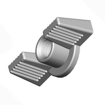 Deco Metric Wing Nut