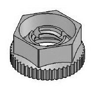 Metric Retaining Nut