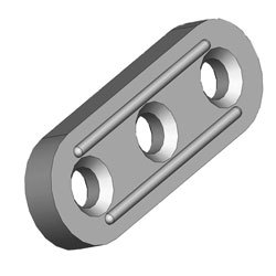 3-Hole Spacer Plate
