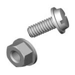 License Plate Screw and Nut