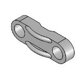 2-Hole Spacer Plate