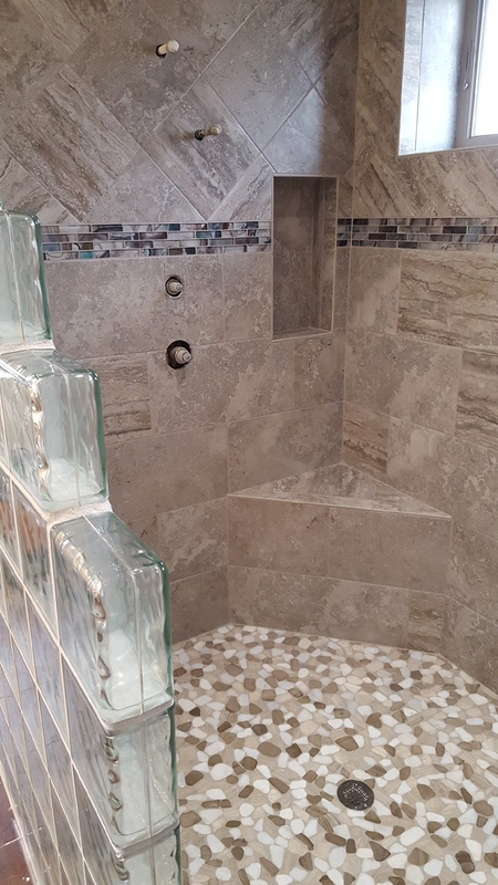 Custom Tile Showers Village Carpet Shop Mountain Home Arkansas
