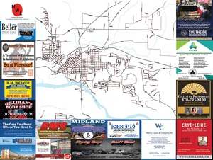 2018 City of Batesville Map