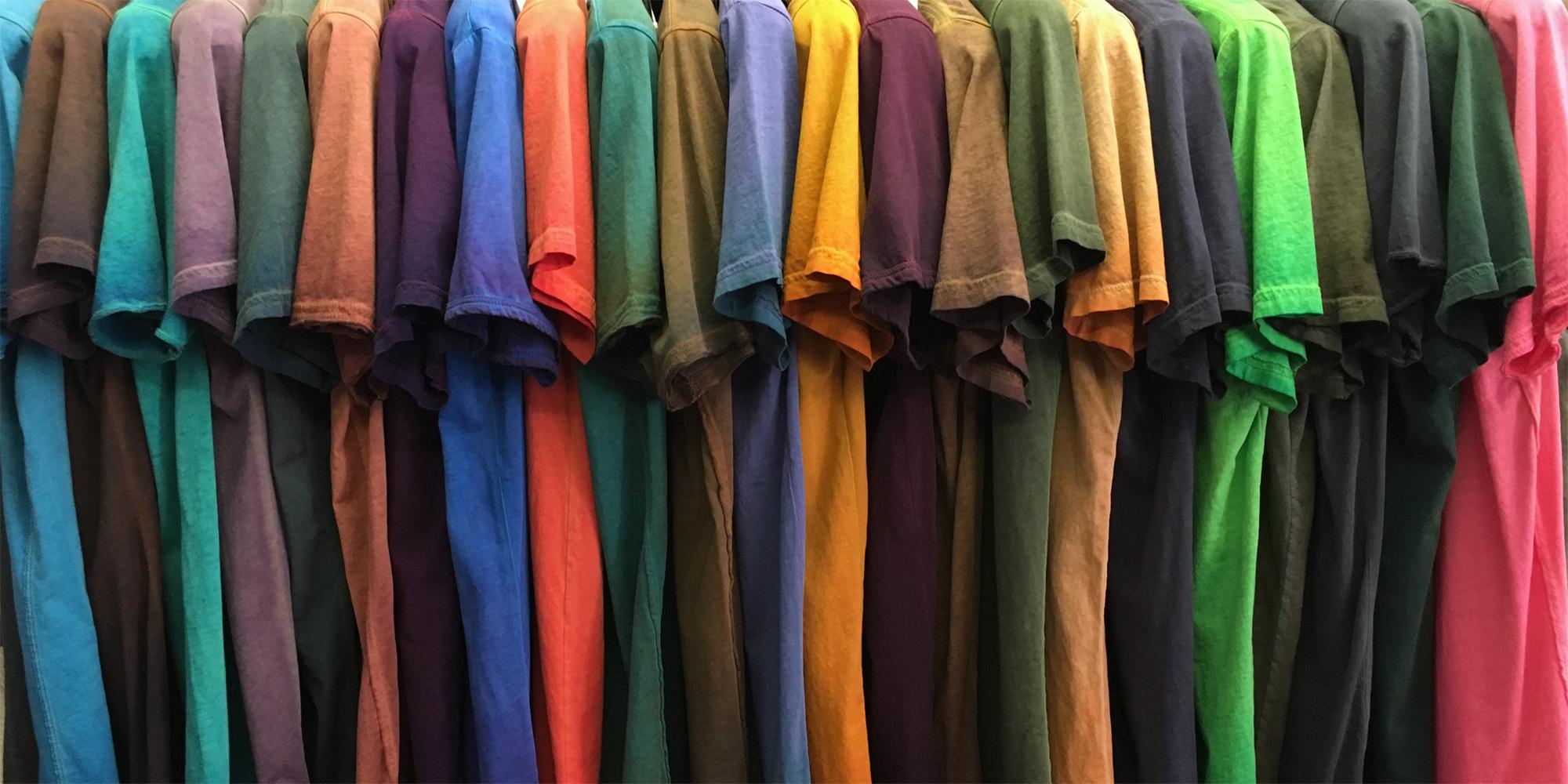 Over 100 unique colors