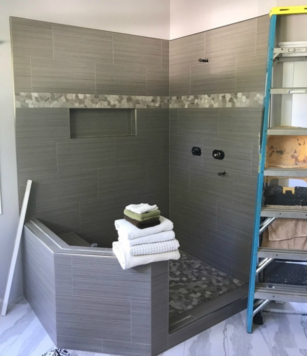 Did You Know That Village Carpet Shop Can Also Give You A Beautiful, Custom  Tile Shower? Give Your Bathroom New Life With Custom Tiles, And Let Our  Experts ...