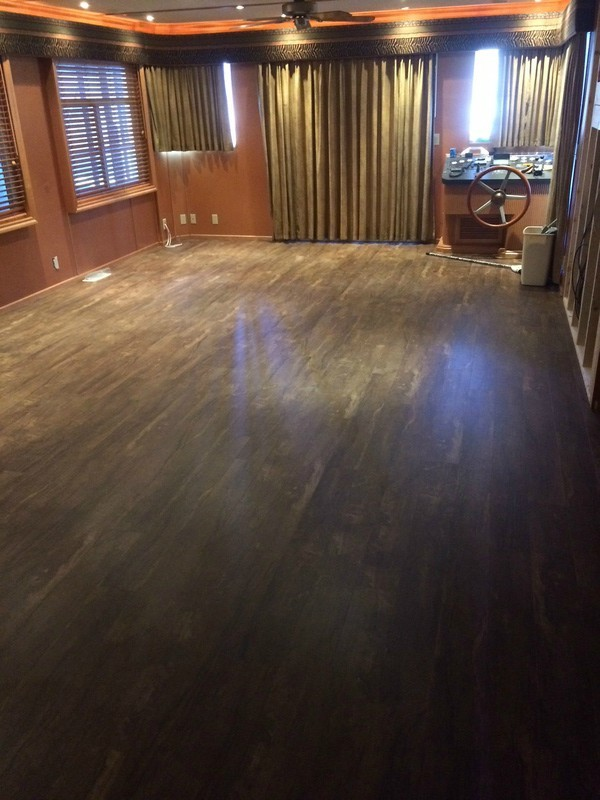 Houseboat Flooring