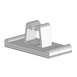 Adhesive Backed Wire and Cable Clip