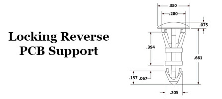 Locking Reverse PCB Support