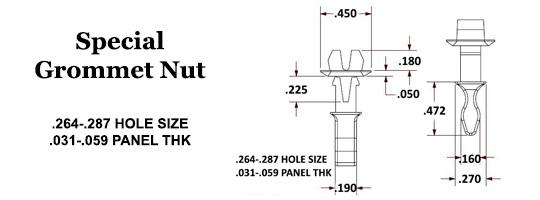 Special Grommet Nut