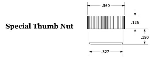 Special Thumb Nut