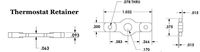 Thermostat Retainer