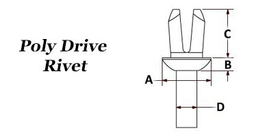 Poly Drive Rivet