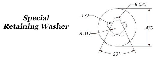 Special Retaining Washer