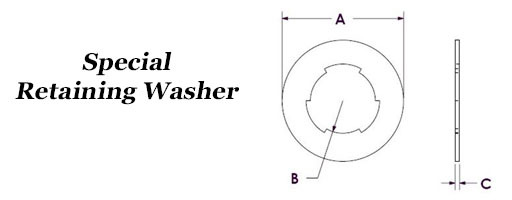 Special Retaining Washers
