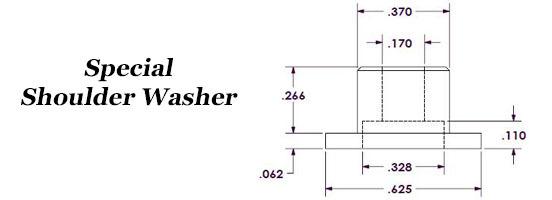 Special Shoulder Washer