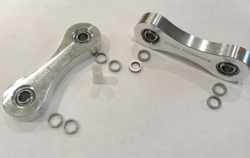 SPYDER EXTRAS BILLET ALUMINUM SWAY BAR LINKS SF3RT-SBL