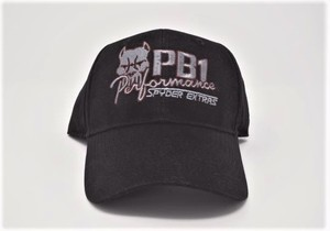 PB1 Performance Spyder Extras BLACK Cap