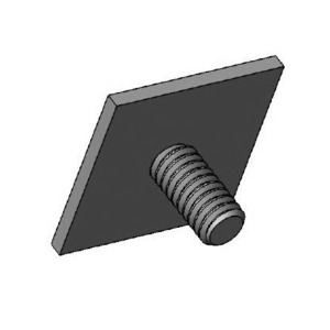 Square Head Adhesive Backed Screw