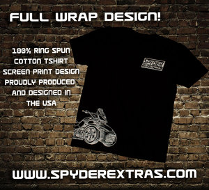 Spyder Extras Can Am Spyder wrap design Shirt