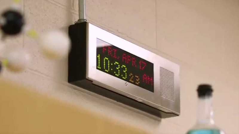 IP Clock/Speakers