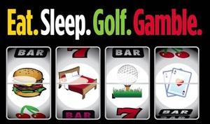 Golf & Gambling Package at Patricia Island