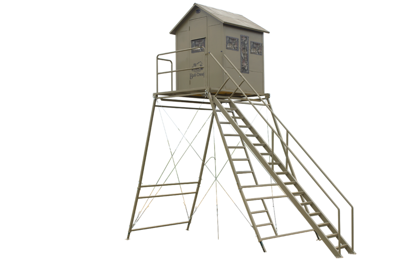 BC Blind, Platform, & 12' Tower Kit with Staircase
