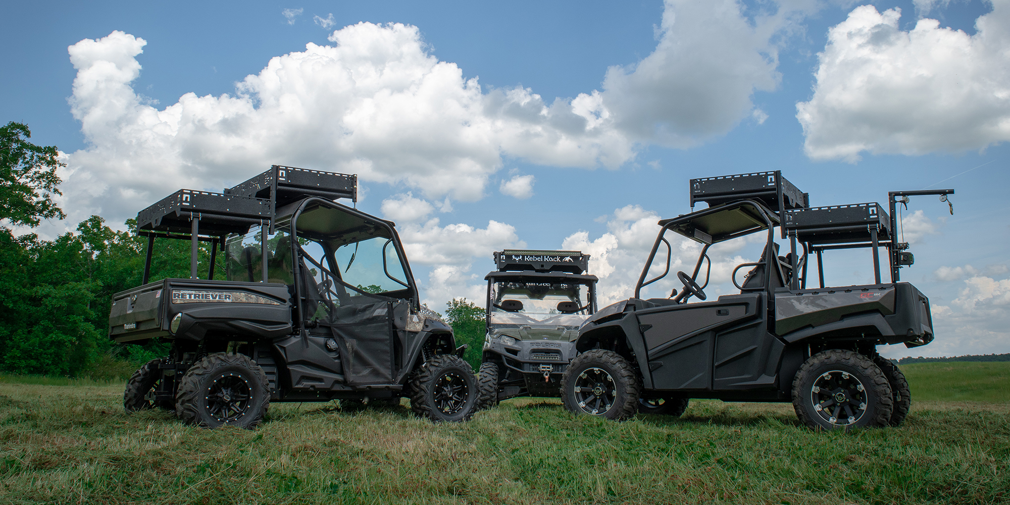 Rough and Rugged Truck and UTV Rack Systems