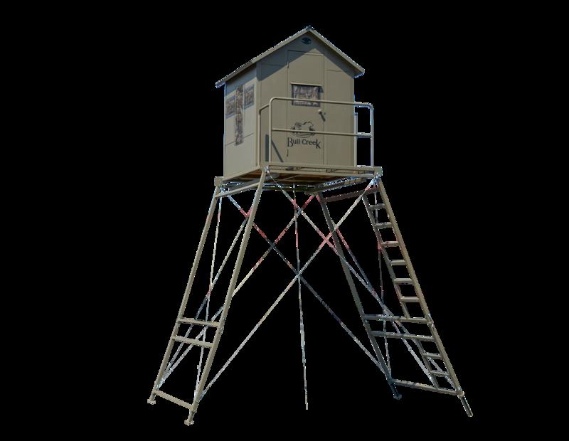 BC Blind, Platform & 12' Tower Kit