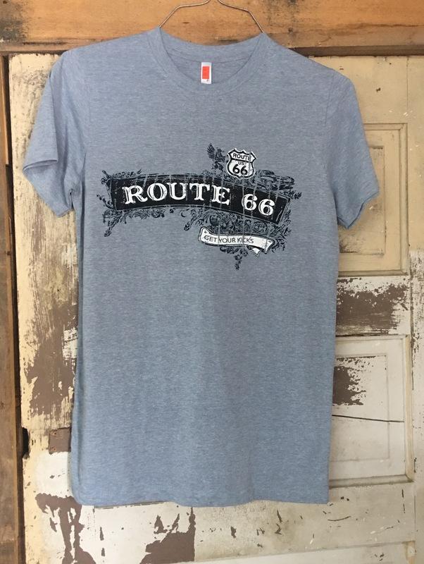 Rt 66 Steel Grey Tshirt