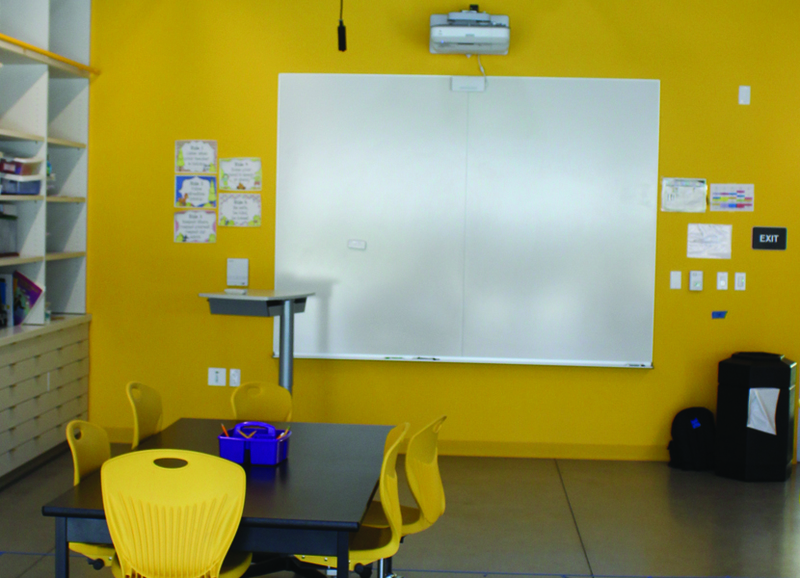 CONNECT Concept Dry Erase Markerboard w/ Projection