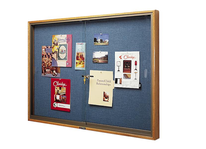 310 Bulletin Board Cabinet