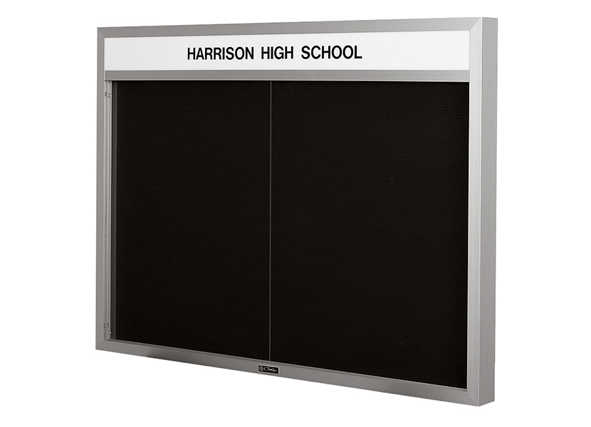IMPERIAL SERIES - Bulletin and Directory Board Cabinet