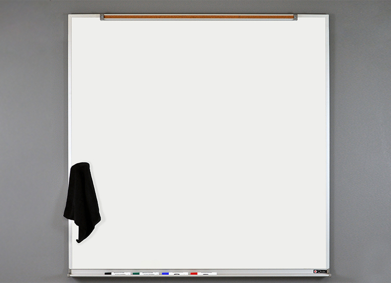 LCS DELUXE - Dry Erase Markerboard with 5/8