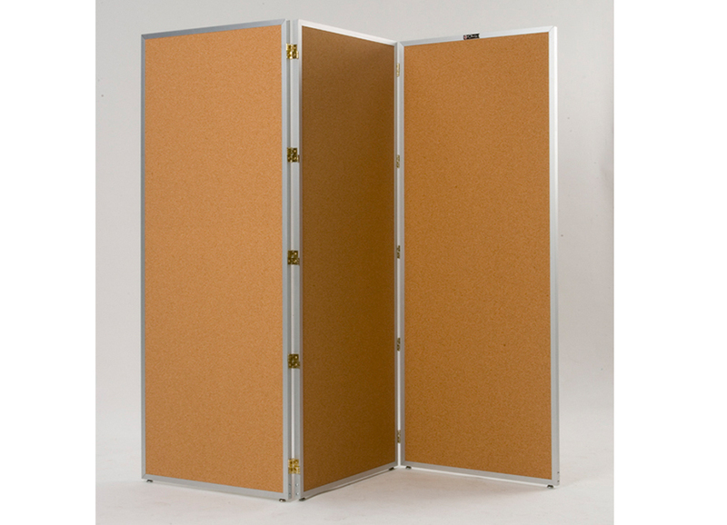 725 FOLDING SCREEN - Room Divider with Tackable Surface