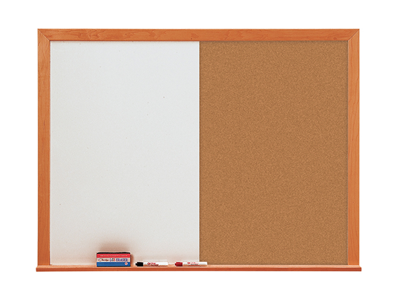 LCS DELUXE COMBO - Markerboard & Tackboard with 1-3/4
