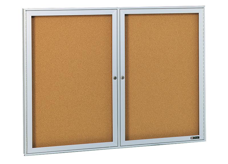 DELUXE SERIES - Bulletin Board Cabinet