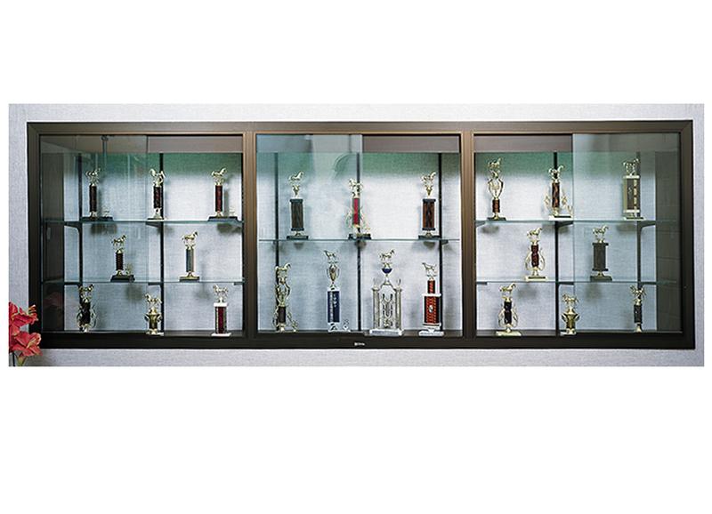 370 SERIES - Recessed Aluminum Display Case