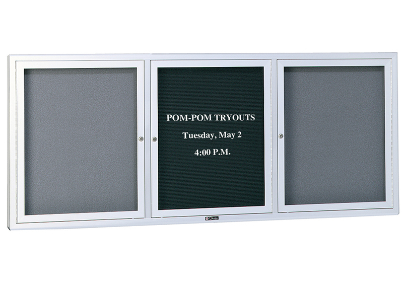 UNIVERSAL SERIES - Bulletin Board & Directory Cabinet