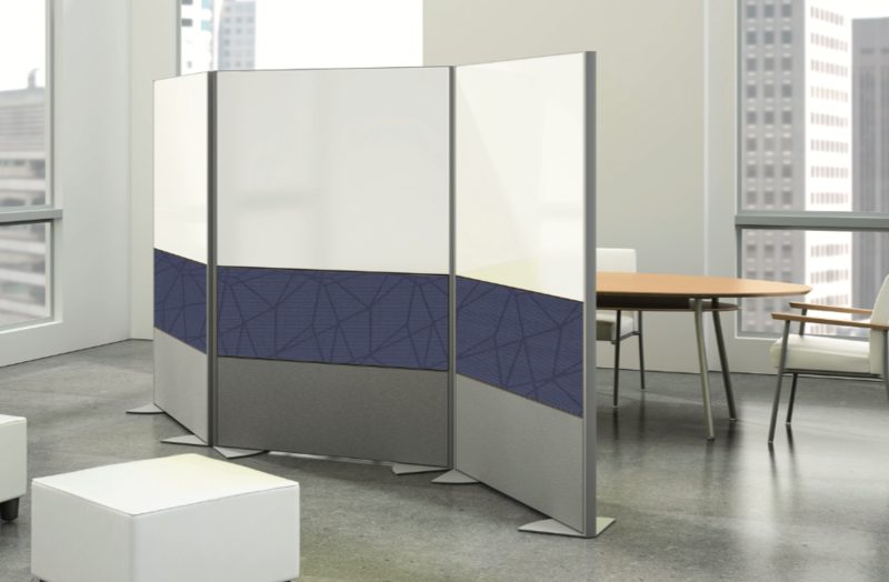 CONNECT Space Creators - Markerboard & Tackboard Room Dividers