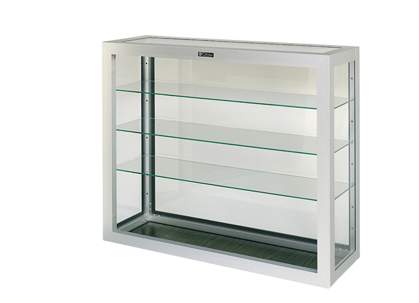Wall Mounted or Table Top Aluminum Display Case