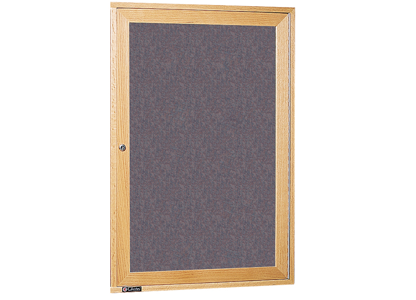 WOOD FRAME BULLETIN BOARD & DIRECTORY CABINETS