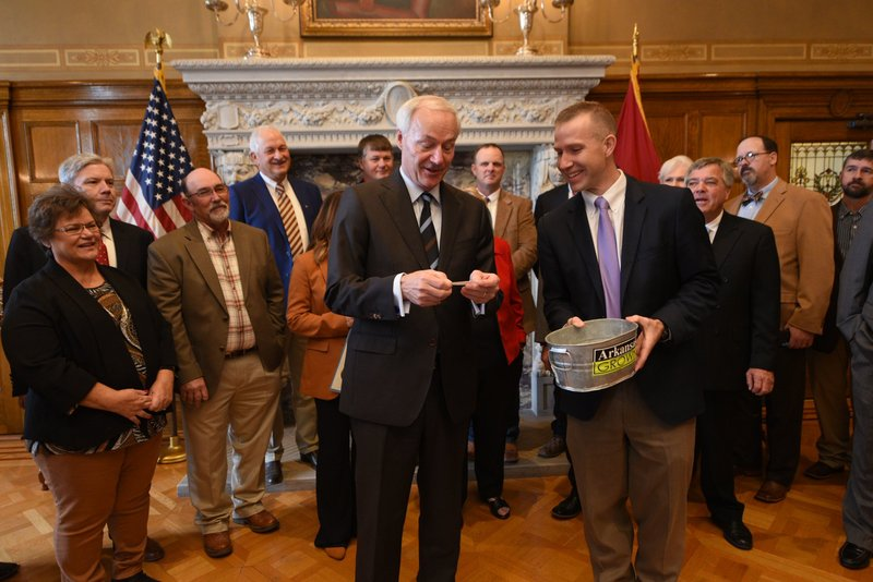 Governor Hutchinson Declares October Pork Month