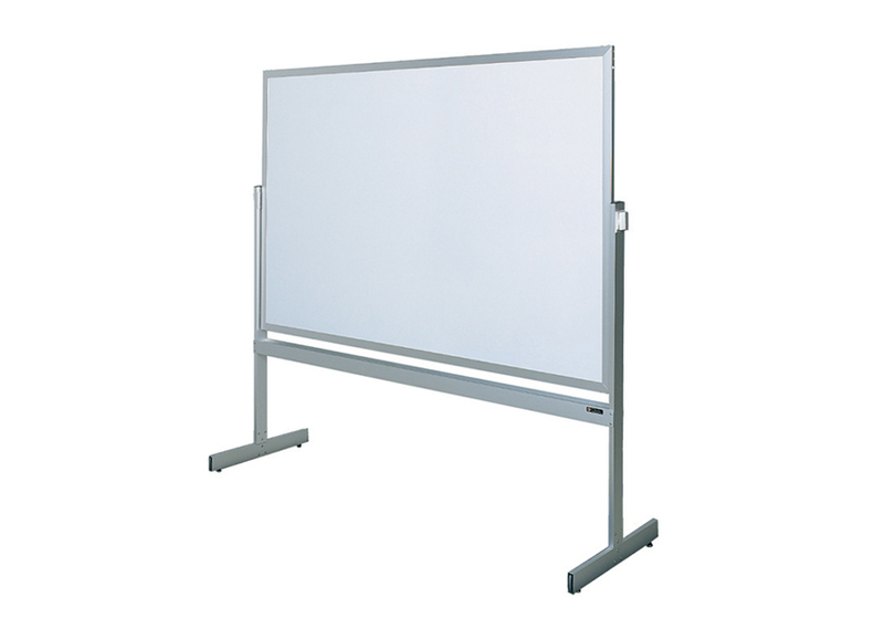 PREMIERE SERIES MOBILE - Reversible Dry Erase Markerboard with Aluminum or Wood Frame