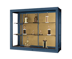 PREMIERE - Wall Mounted Aluminum Frame Display Case
