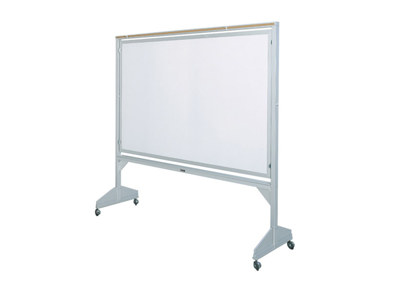 DELUXE SERIES REVOLVING TWO-SIDED MOBILE - Markerboard or Chalkboard