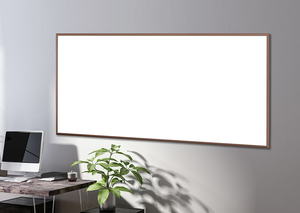 MOTIF -  Dry Erase Markerboard with 1