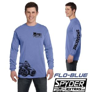 WITH SLEEVE LOGO:  LONG SLEEVE SPYDER EXTRAS LOWER WRAP DESIGN SPYDER F3 VERSION