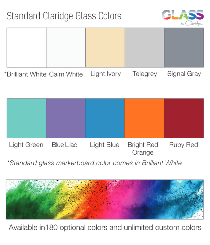 Standard Glass Colors and Board Sizes